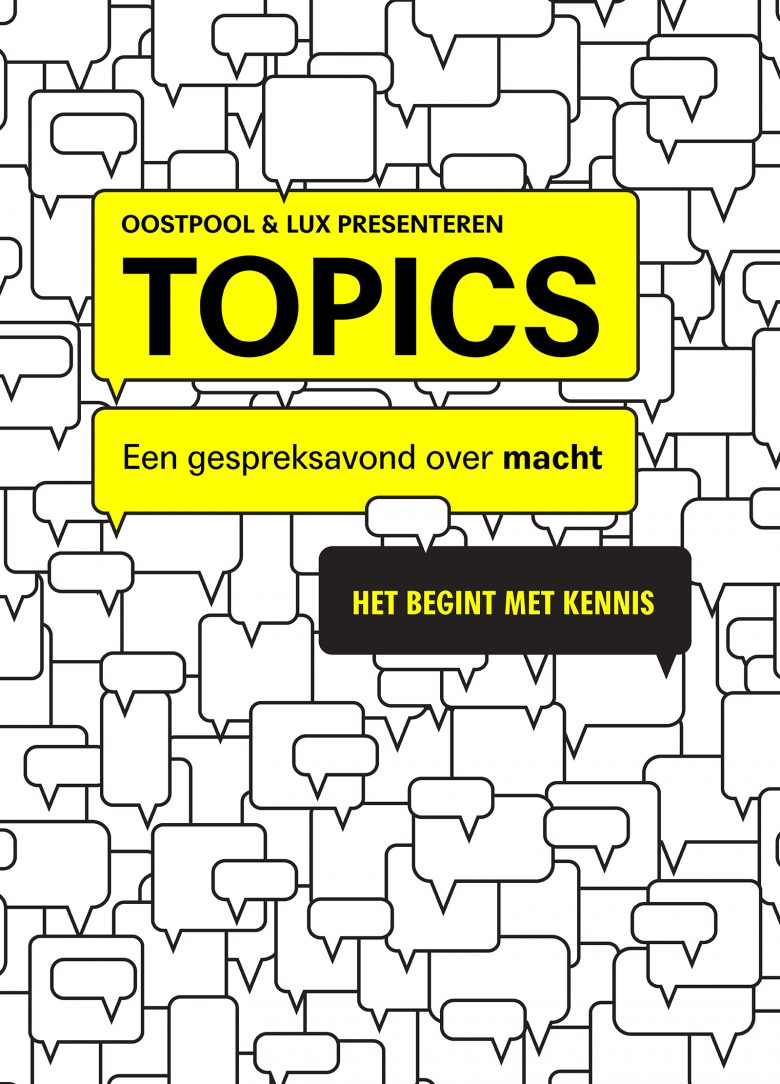 Oostpool Topics - Website staand